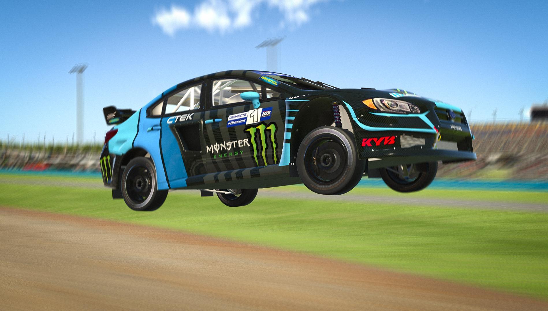 Preview of RX Cartel Andreas Bakkerud Style Subaru WRX STi by Dominik Gerardts