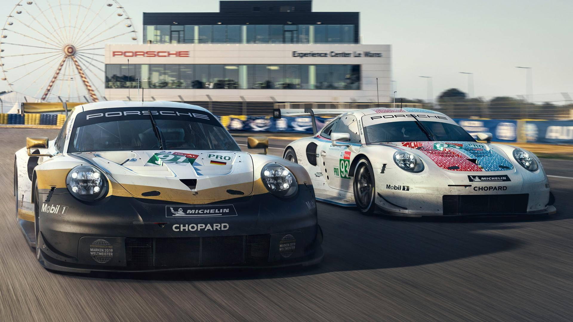 Preview of 2019 Porsche RSR Le Mans Livery  by Paul Mansell