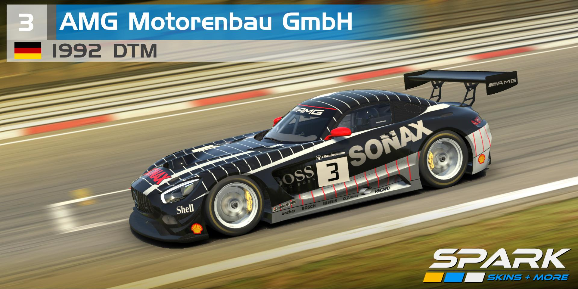 Preview of 1992 - DTM - AMG Motorenbau GmbH #3 by Marcel M Penzkofer