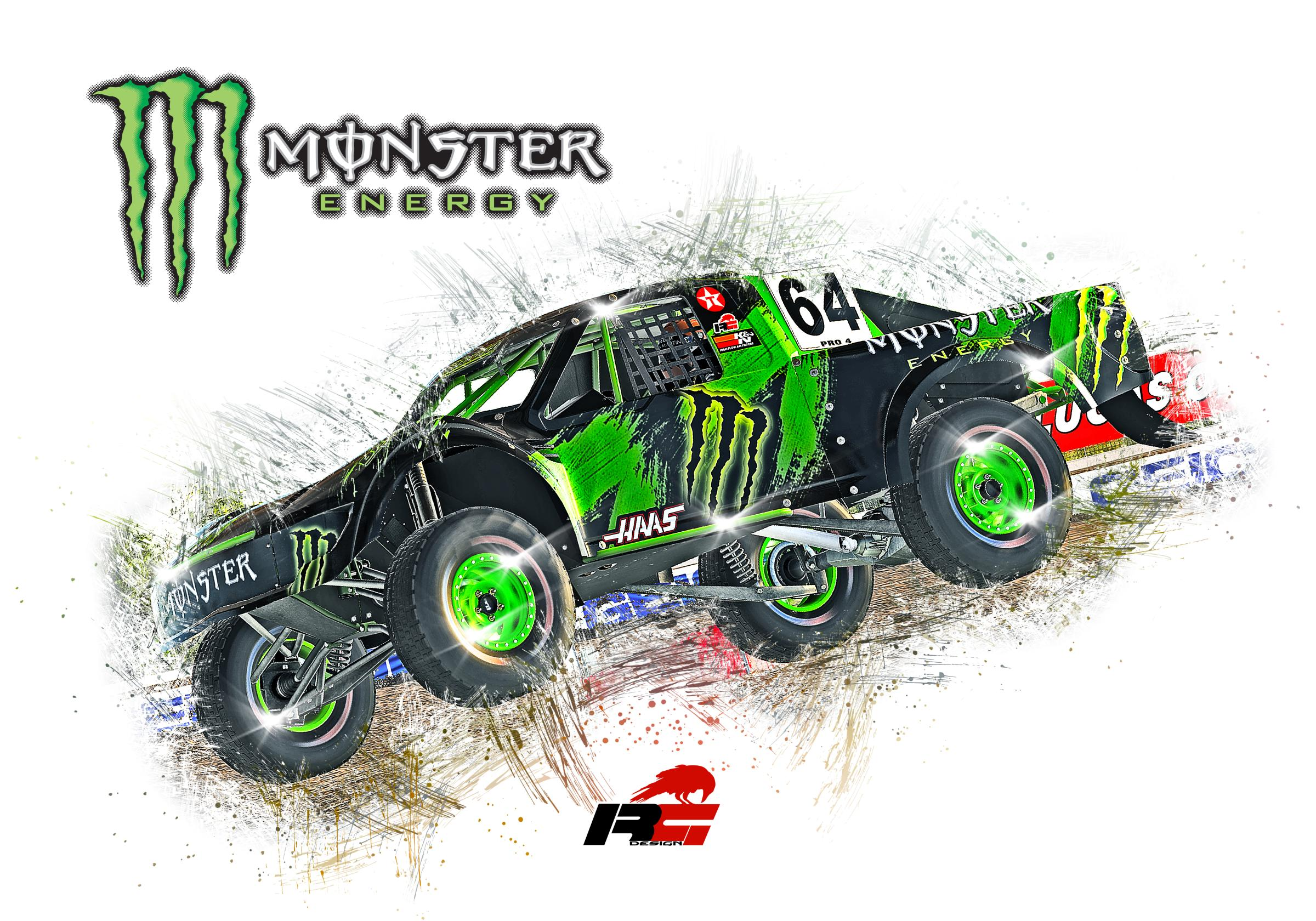 Preview of Monster Pro4 Stadium Truck by Doyle Lowrance