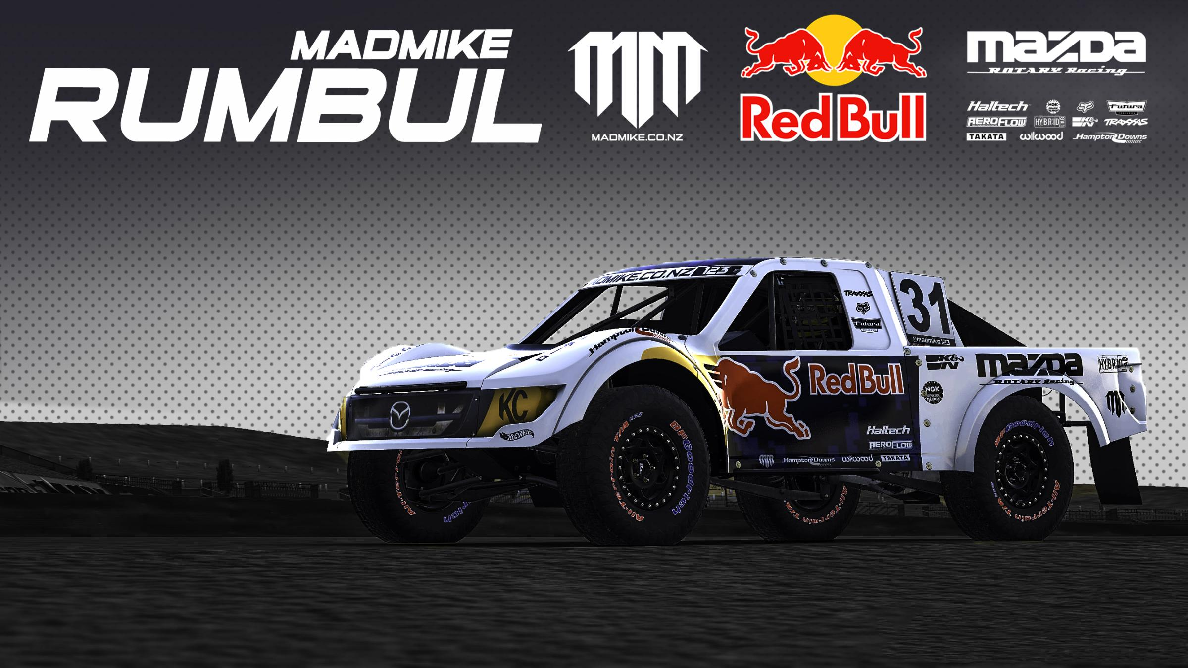 Preview of MadMike123 RUMBUL Pro4 Truck (White) by Yuji Asakawa