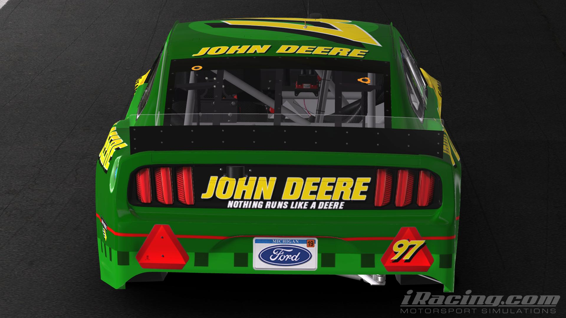 Preview of Fictional John Deere Mustang by Dustin Winegardner