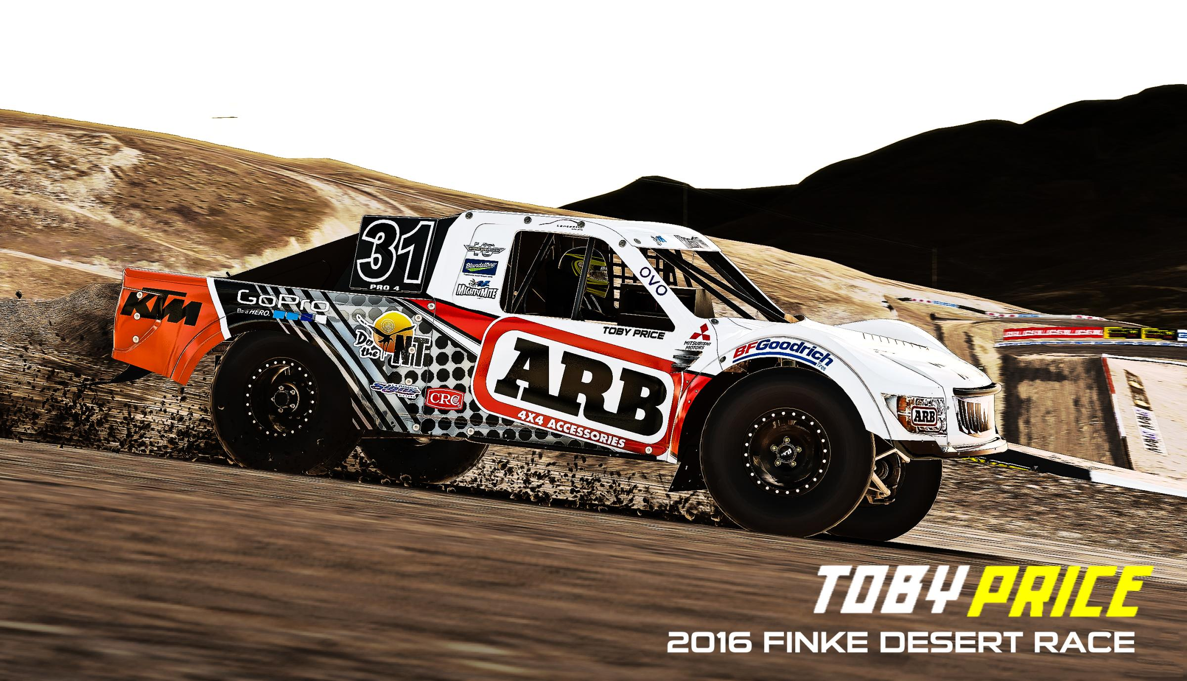 Preview of TOBY PRICE  ARB Trophy Truck    2016 Finke Desert Race Paint by Yuji Asakawa
