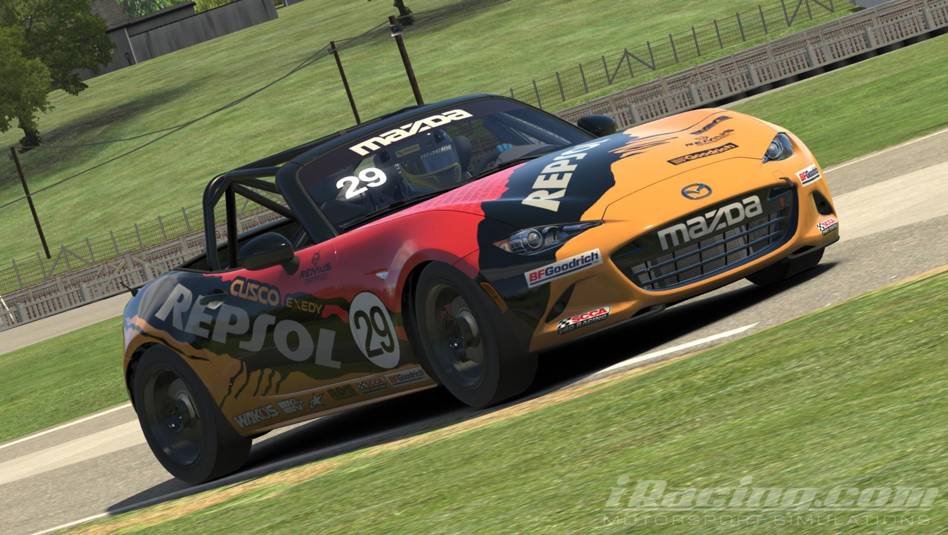 Preview of Global Mazda MX5 Repsol by Christian Kistner