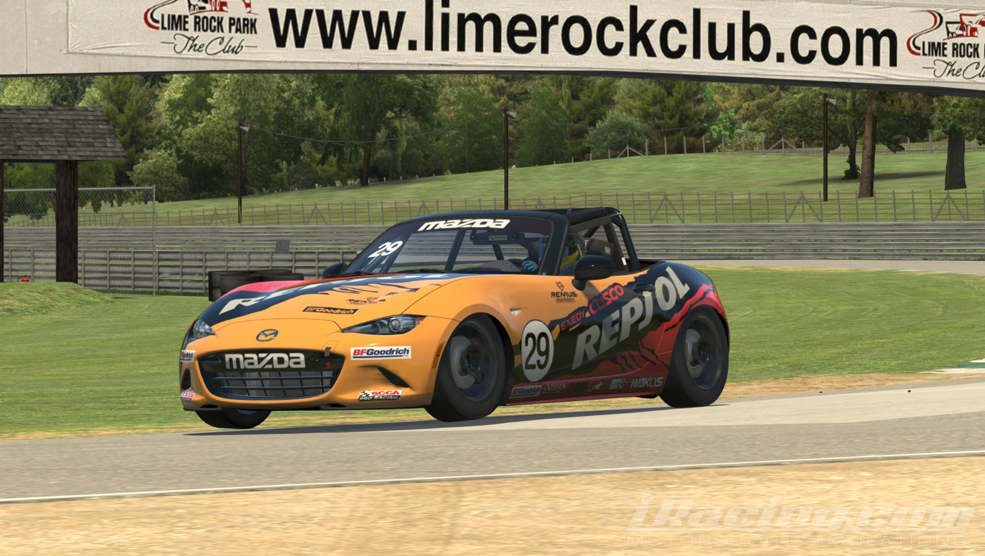 Preview of Global Mazda MX5 Repsol by Christian Kistner