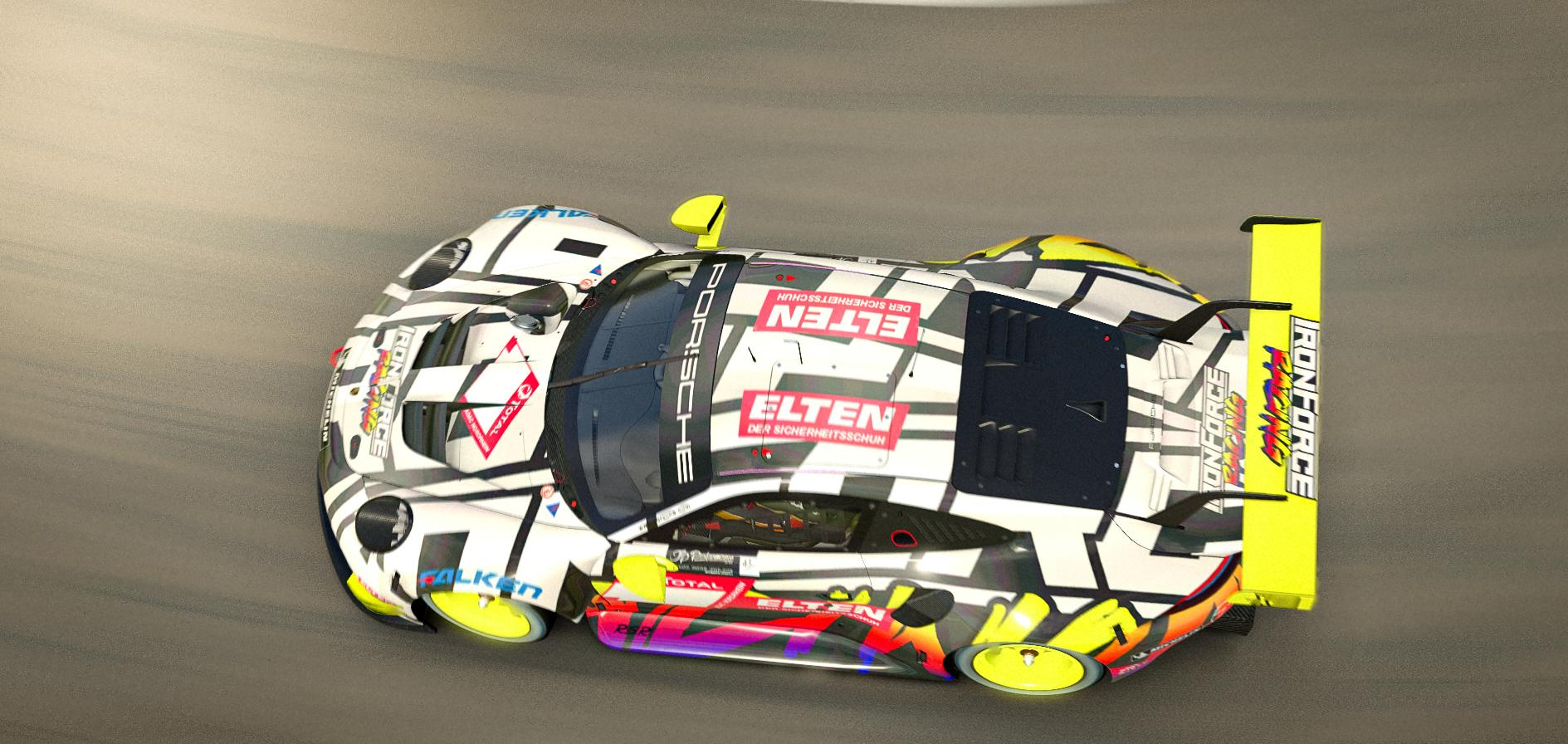 Preview of Ironforce Porsche 911 RSR 24h NBR by Dominik Gerardts