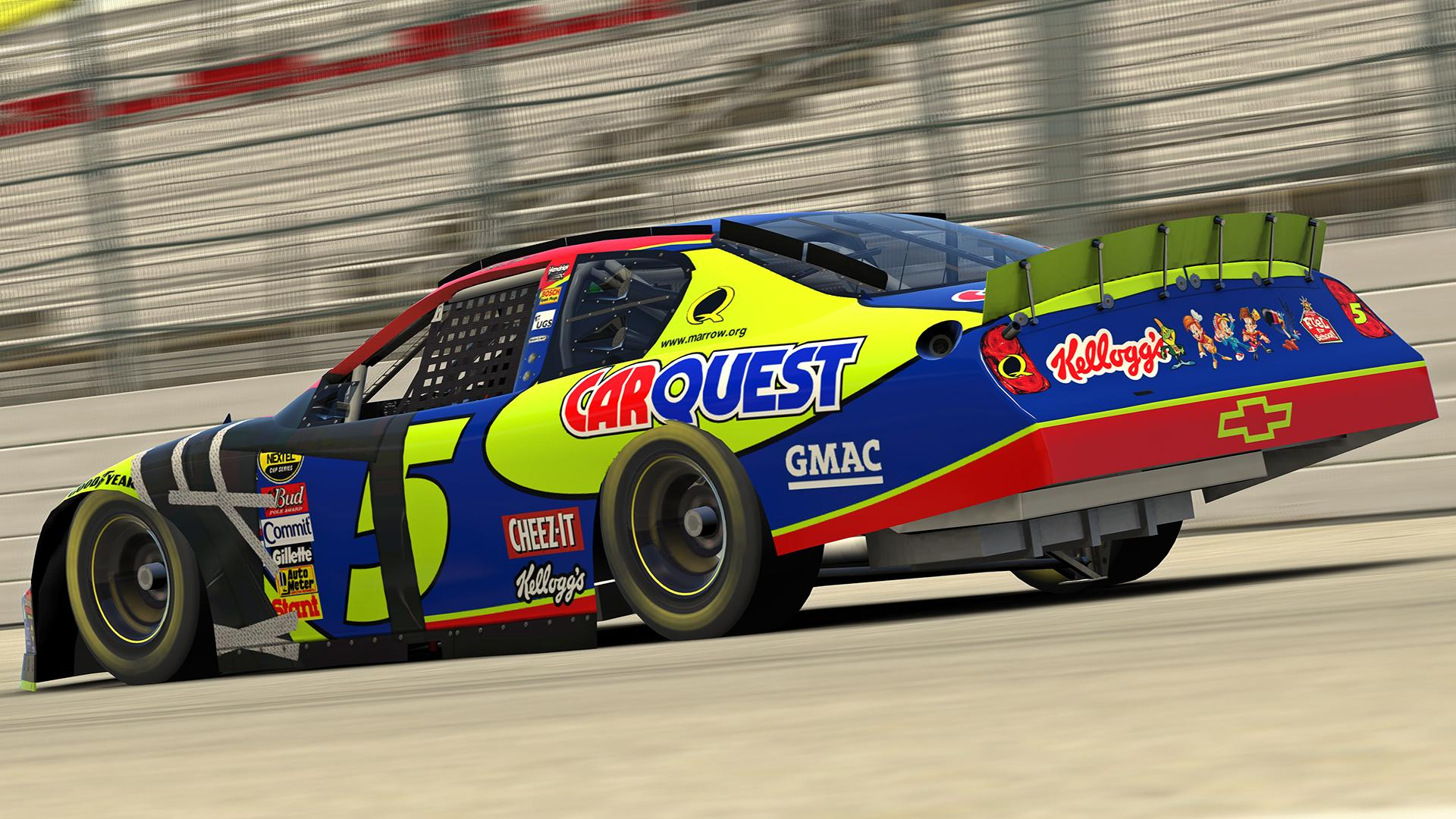 Preview of 2007 Dale Earnhardt Jr. Kelloggs / Carquest #5 Chevrolet Monte Carlo SS by Jordan Erickson