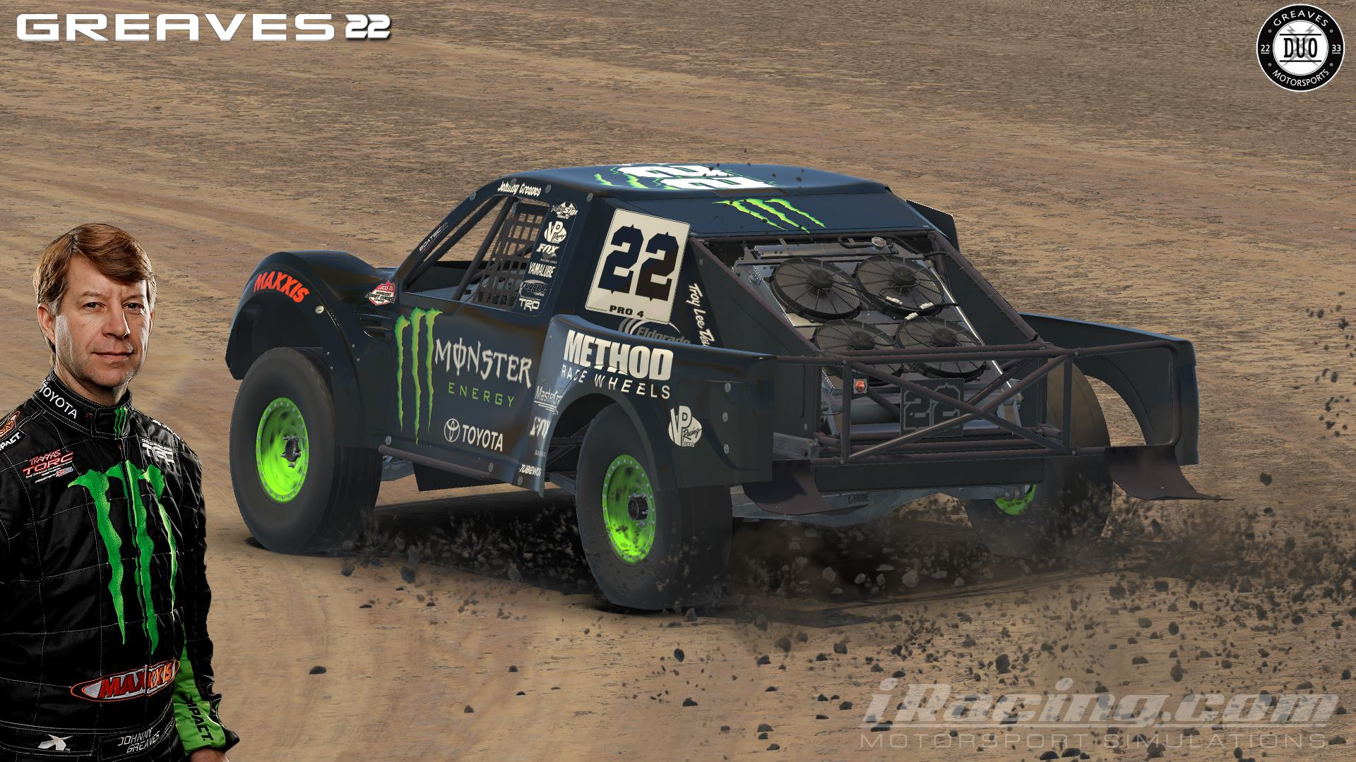 Johnny Greaves#22 Pro4 by Brian P. - Trading Paints