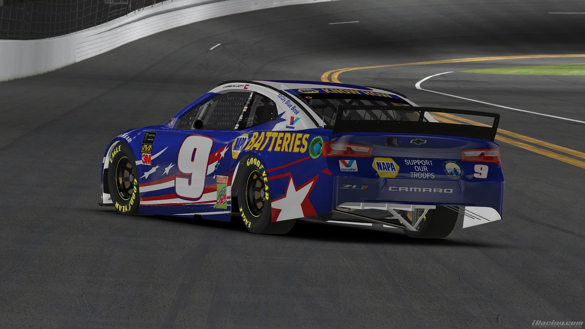 Preview of Chase Elliott Napa Patriotic 2019 by Alexander L Russell