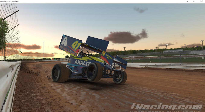 Preview of jason johnson racing by Steve Barlee