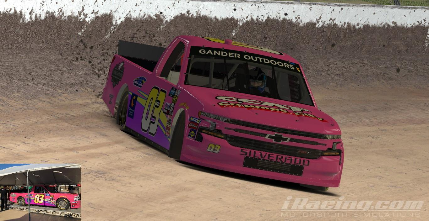 Preview of 2019 #03 Jake Griffin CCAP (Eldora) by Shawn Howell