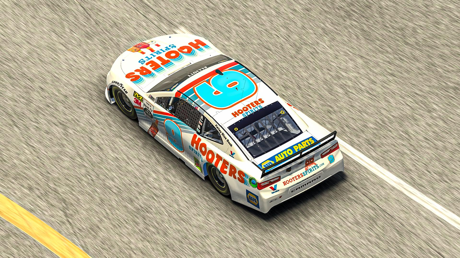 Preview of Chase Elliot - 2019 Hooters Spirits  by Nicholas H.