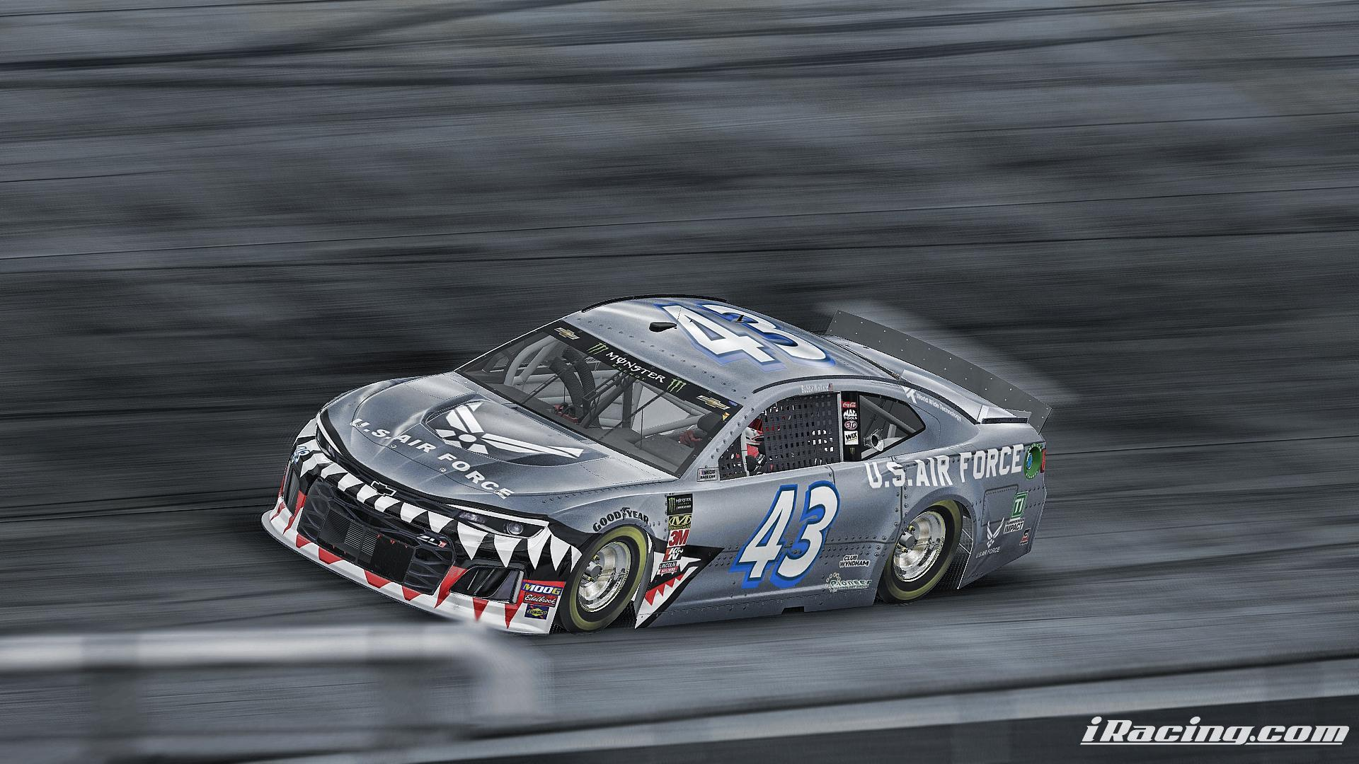 Preview of Bubba Wallace US Air Force by Adam Chapman
