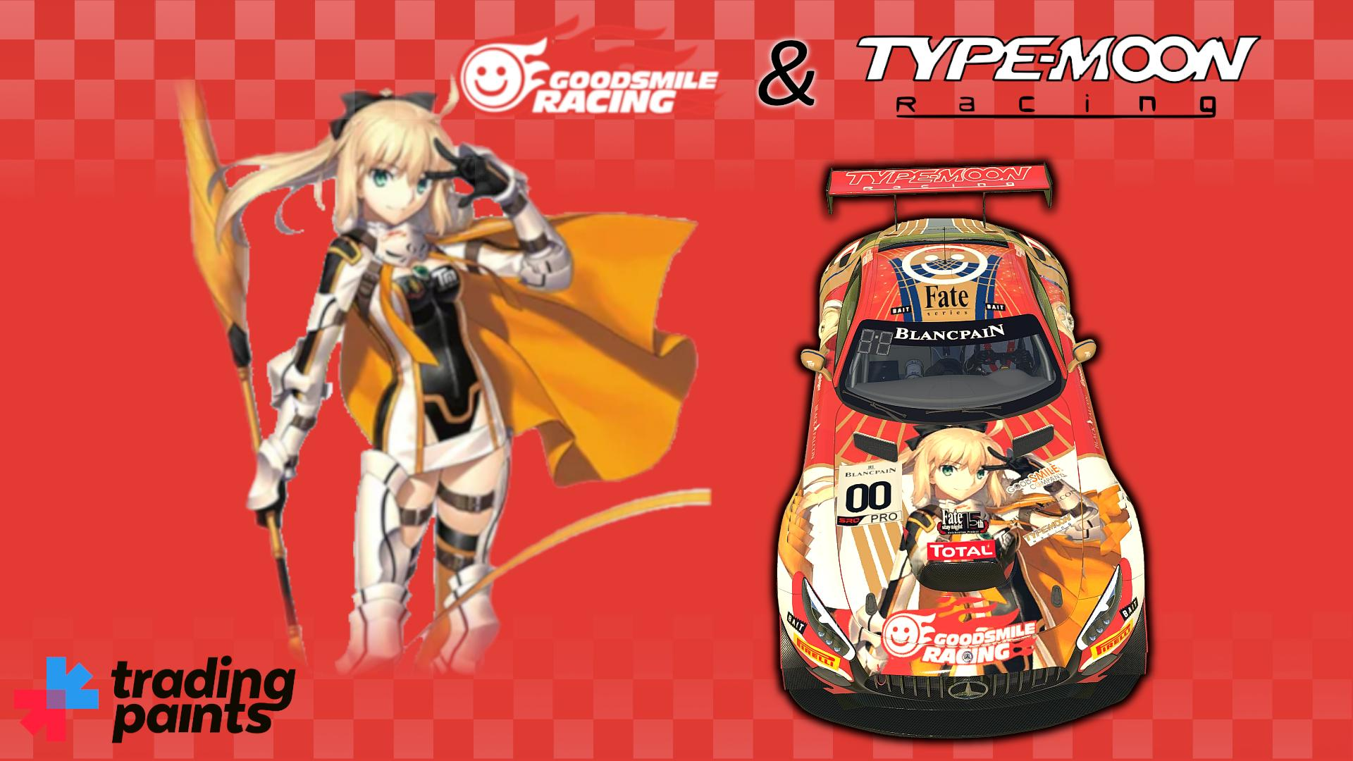 Preview of #00 Goodsmile Racing & Type-Moon Fate Spa 2019 Mercedes AMG GT3 by Andrzej Frysiak