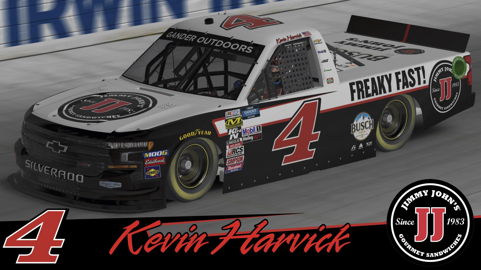 Preview of Kevin Harvick - Jimmy Johns 2019 by Timothy Collier