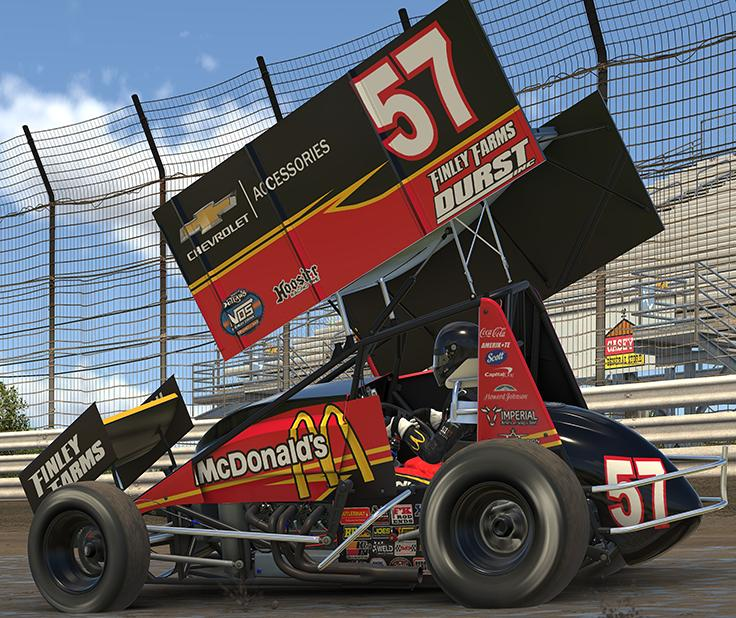 Preview of Kyle Larson 2019 Knoxville Nationals by Dustin Enderle