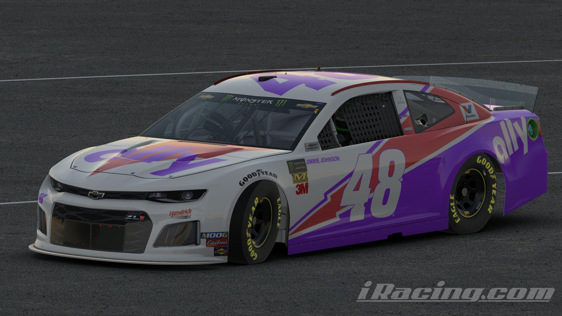 Preview of (Broke)Jimmie Johnson Ally Throwback by Austin G Johnson