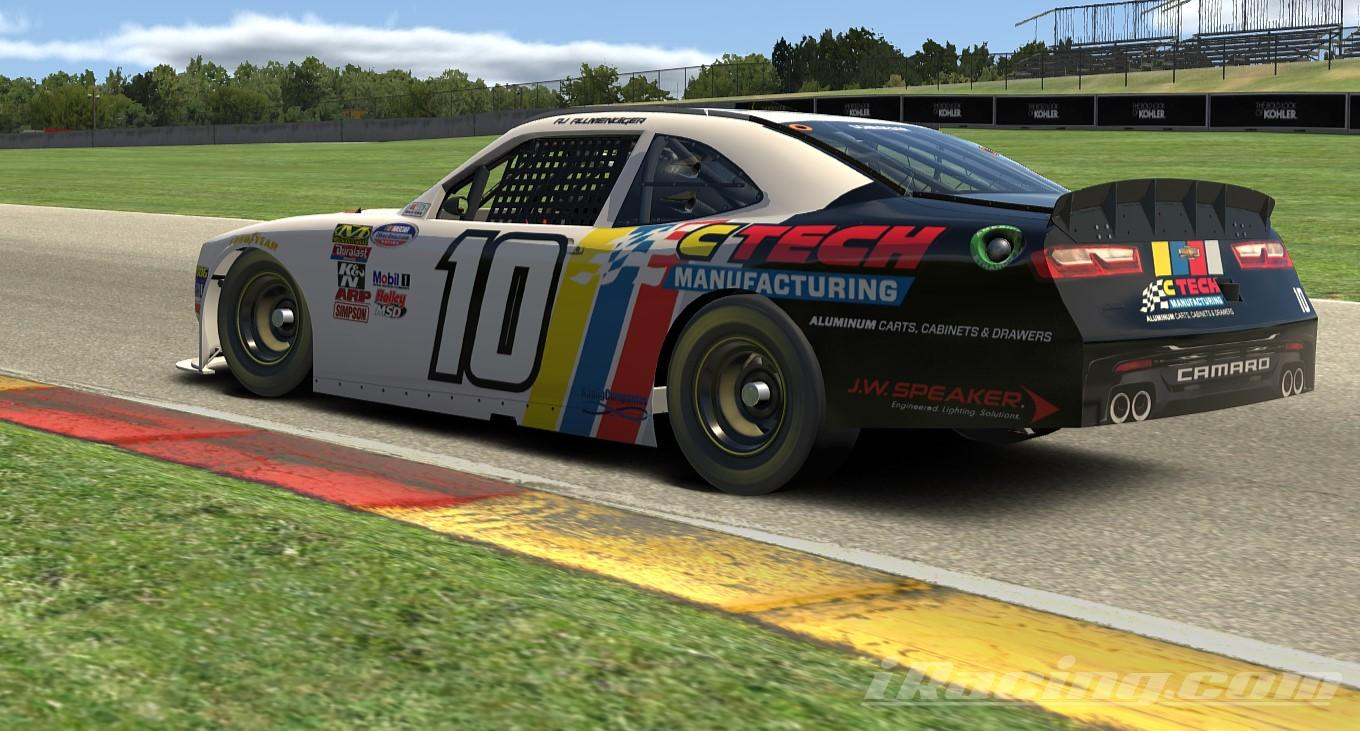 Preview of AJ Allmendinger | CTech Manufacturing |  Camaro by Phil Schroeder