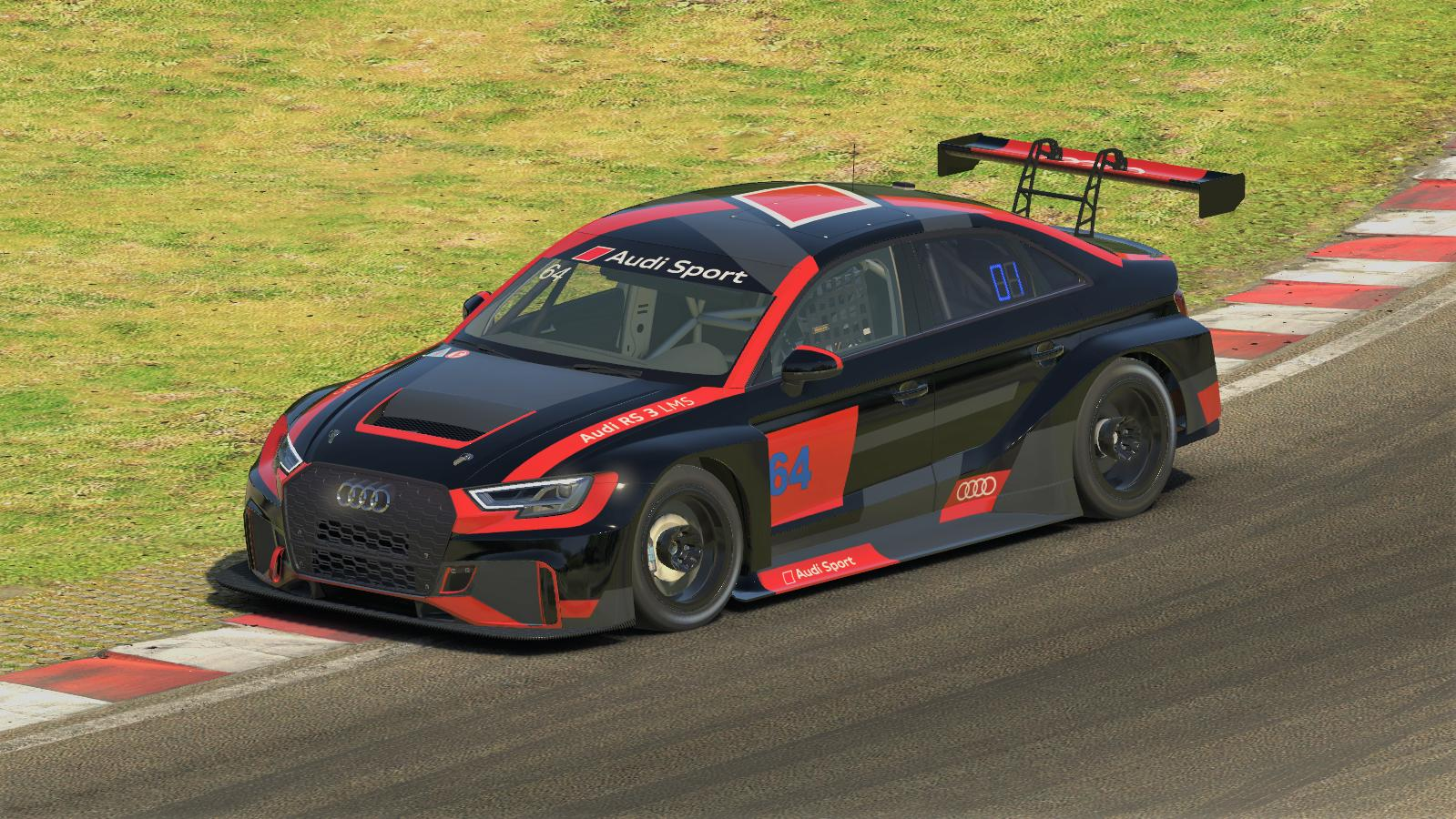 Preview of Audi RS 3 LMS Launch Livery  by Ville Korppi