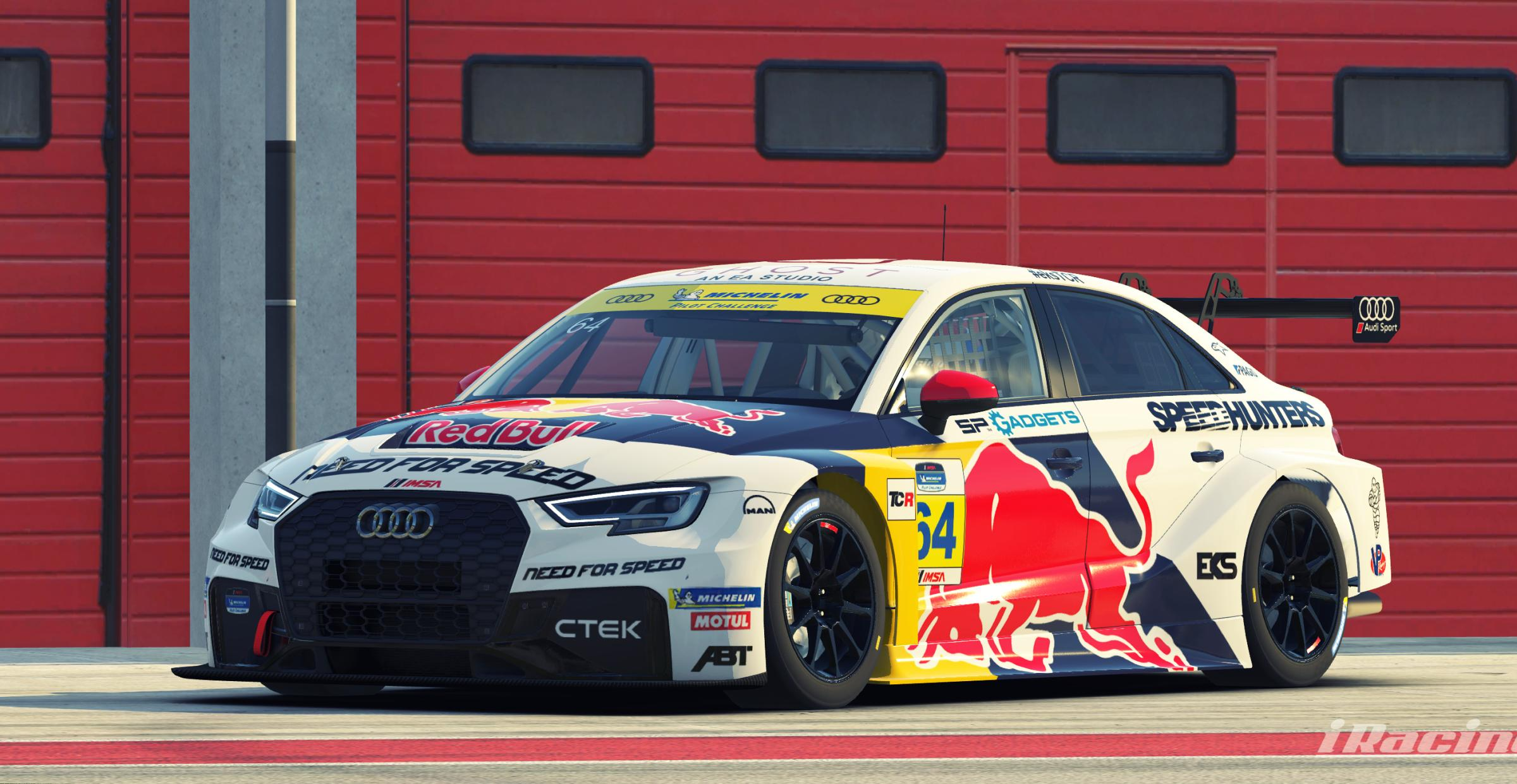 Preview of EKS inspired Audi RS