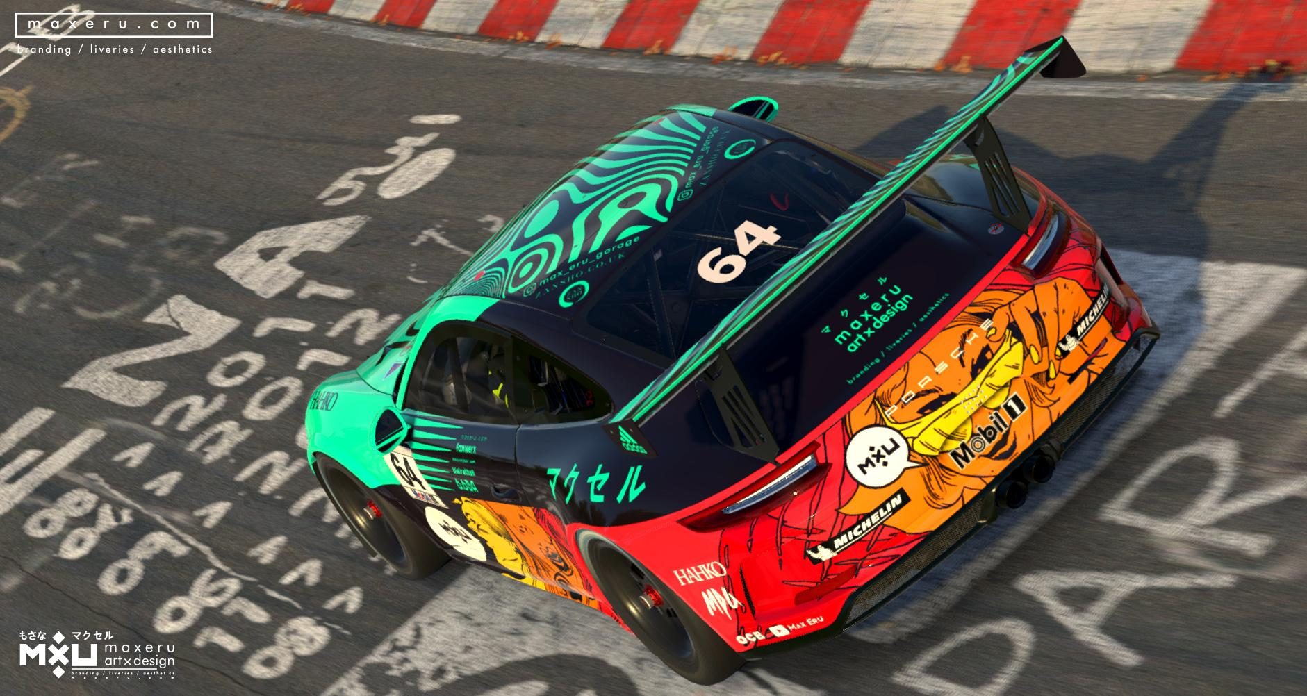 Preview of MXU Collectors Edition - Porsche 911 GT3 Cup (Spec map update) by Bryce L.