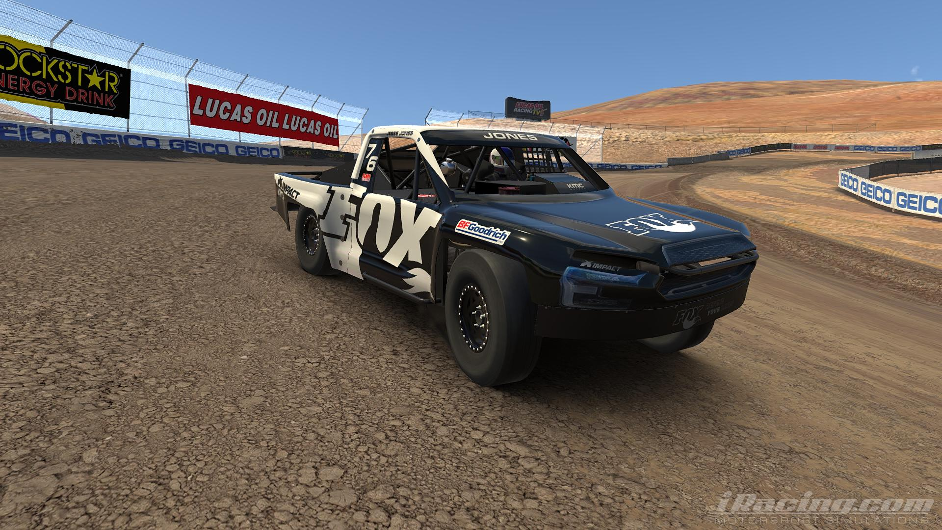 Preview of Jesse Jones Fox Racing Trophy Truck (Pro 2 Lite) by Steve Ficacci