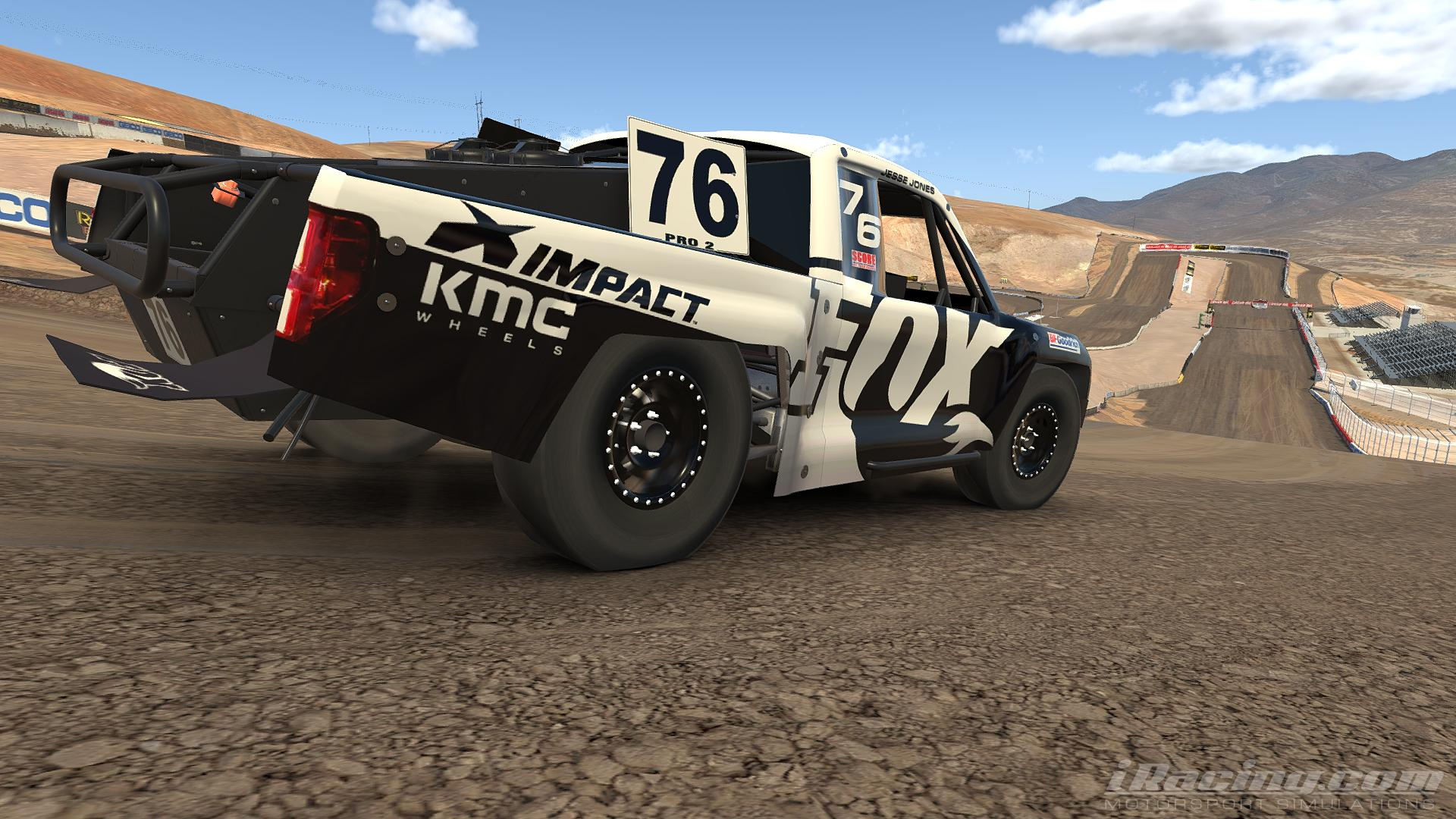 Preview of Jesse Jones Fox Racing Trophy Truck (Pro 2 Lite) by Steve Ficacci