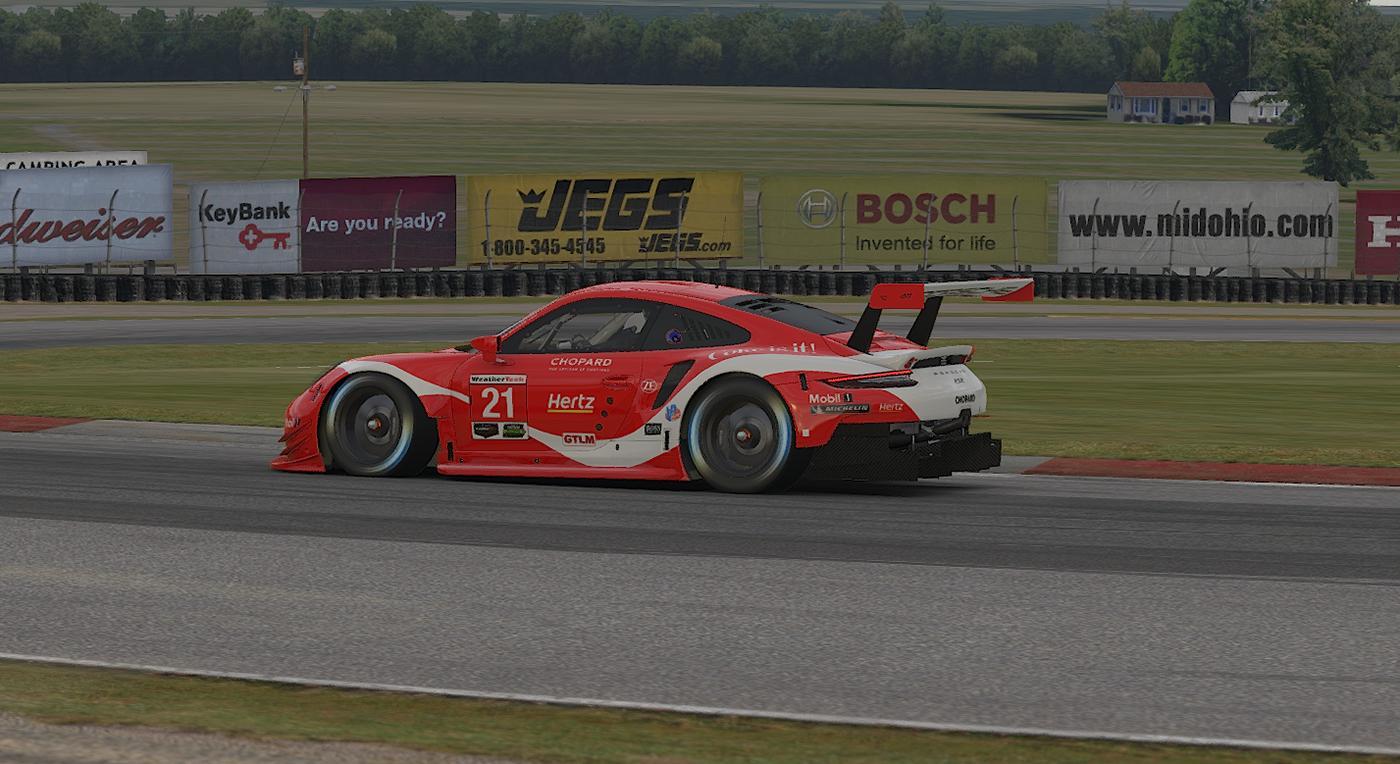Preview of 2019 Petit Le Mans Coca Cola Porsche by Mathew Epstein
