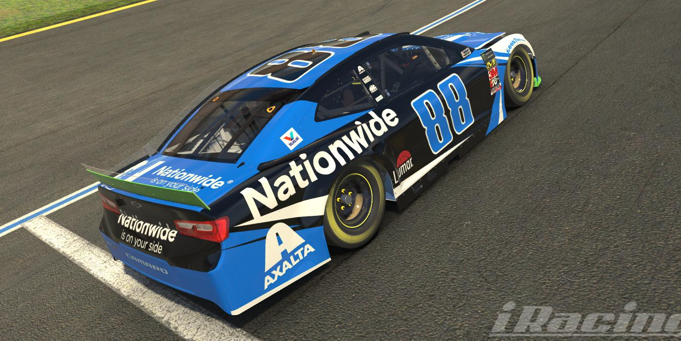 Preview of #88 Vegas Paint Scheme W/ Custom Number by Cody Young11