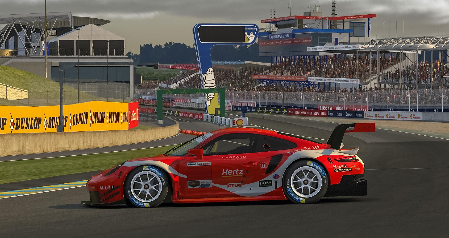 Preview of Coca-Cola Porsche RSR by Paul Mansell