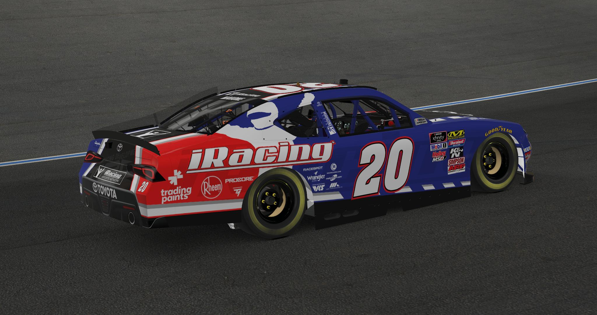 Preview of iRacing Supra (Christopher Bell Helmet version) by Anthony Mahone