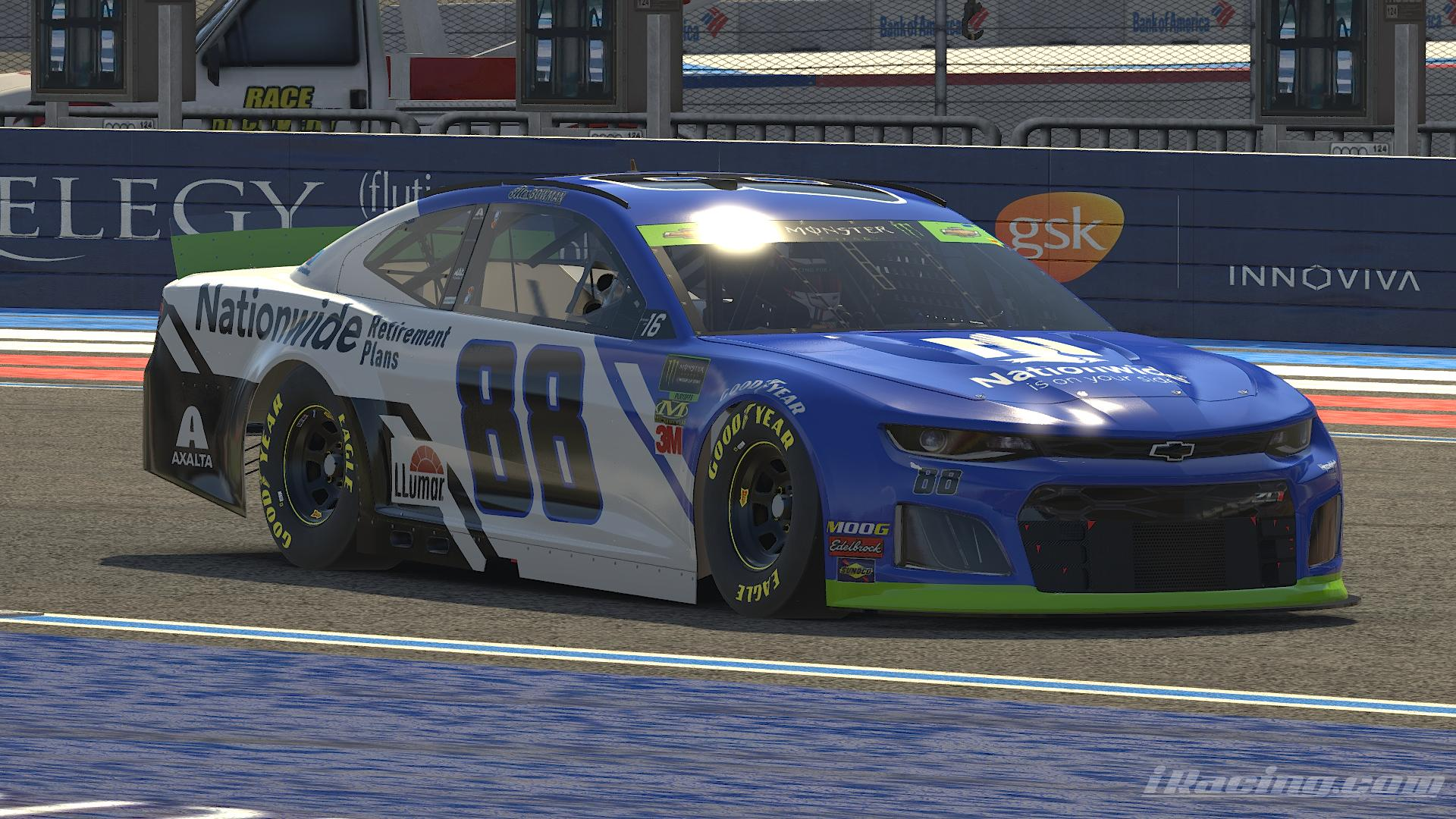 Preview of Alex Bowman Nationwide Retirement 2019 by Alexander L Russell