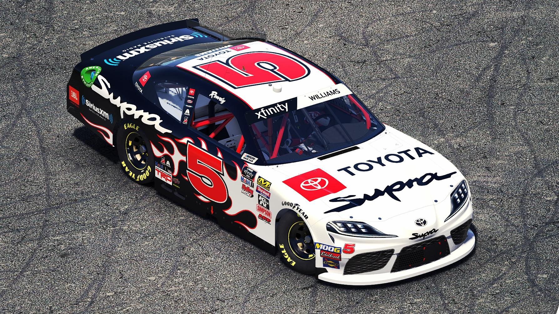 Preview of 2019 Team Toyota Supra by Ryan A Williams