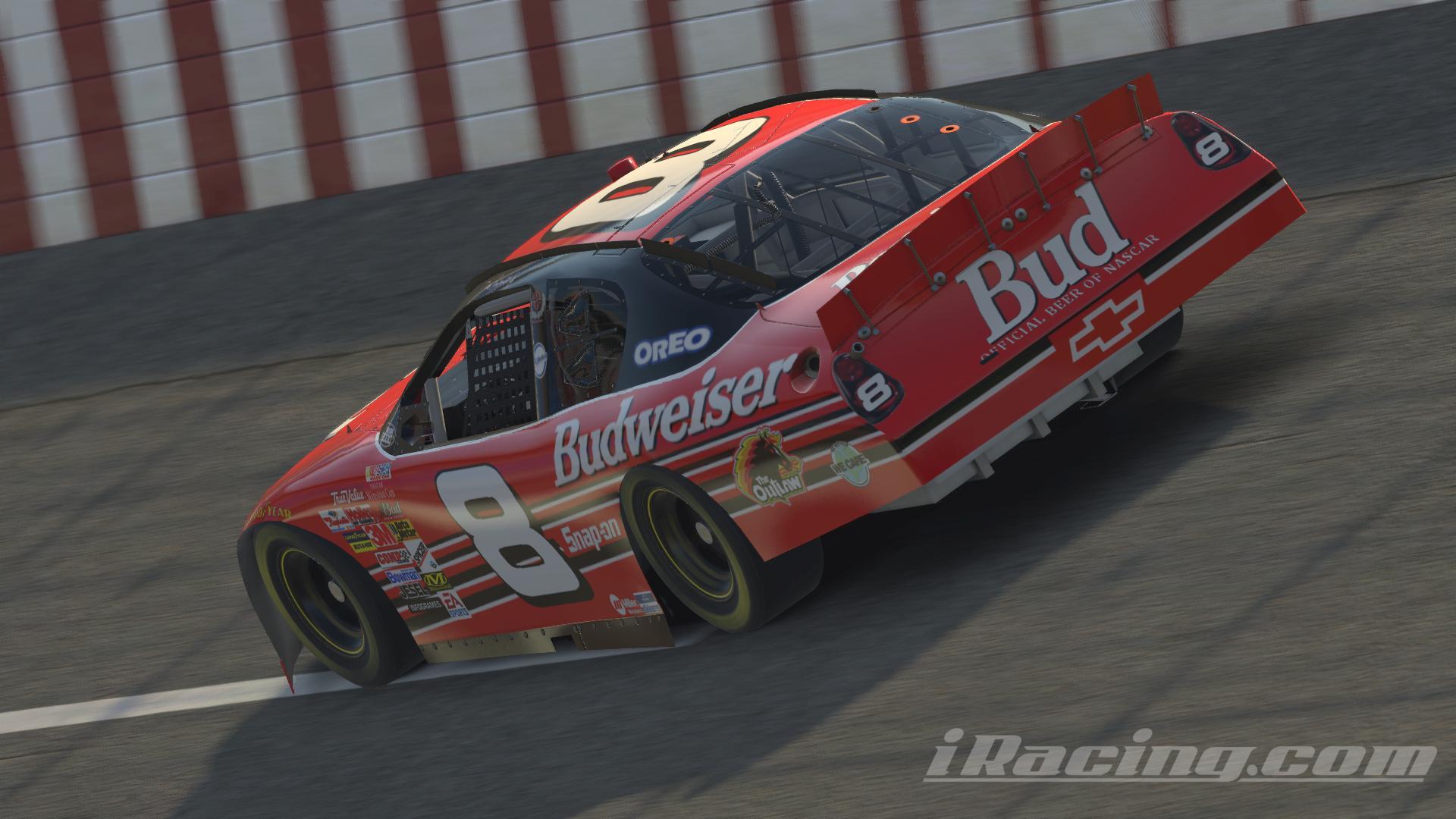 Preview of Budweiser 2000 Dale Jr w/ numbers by Blake Kelley