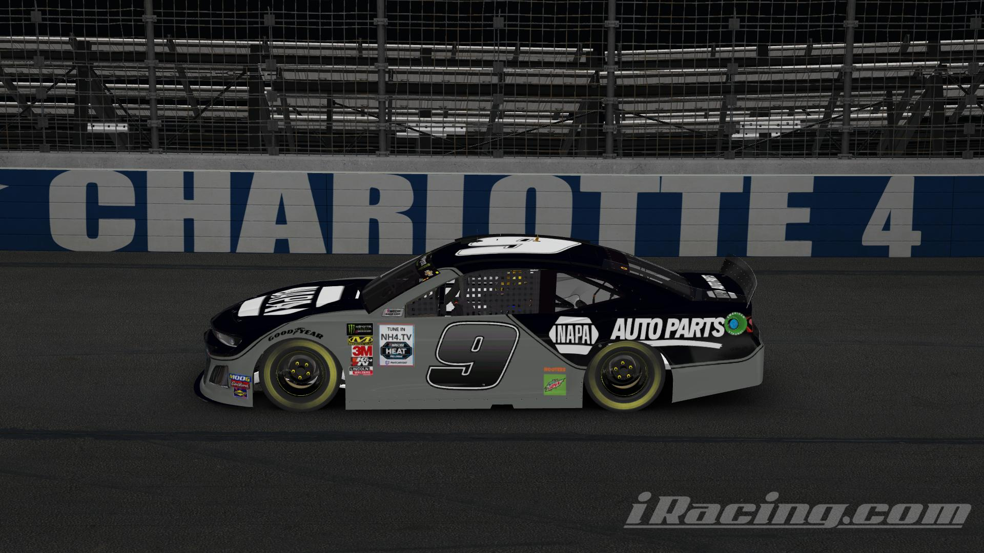 Preview of NAPA Chase Elliott Black Concept Chevy (No #) by Chris T J.