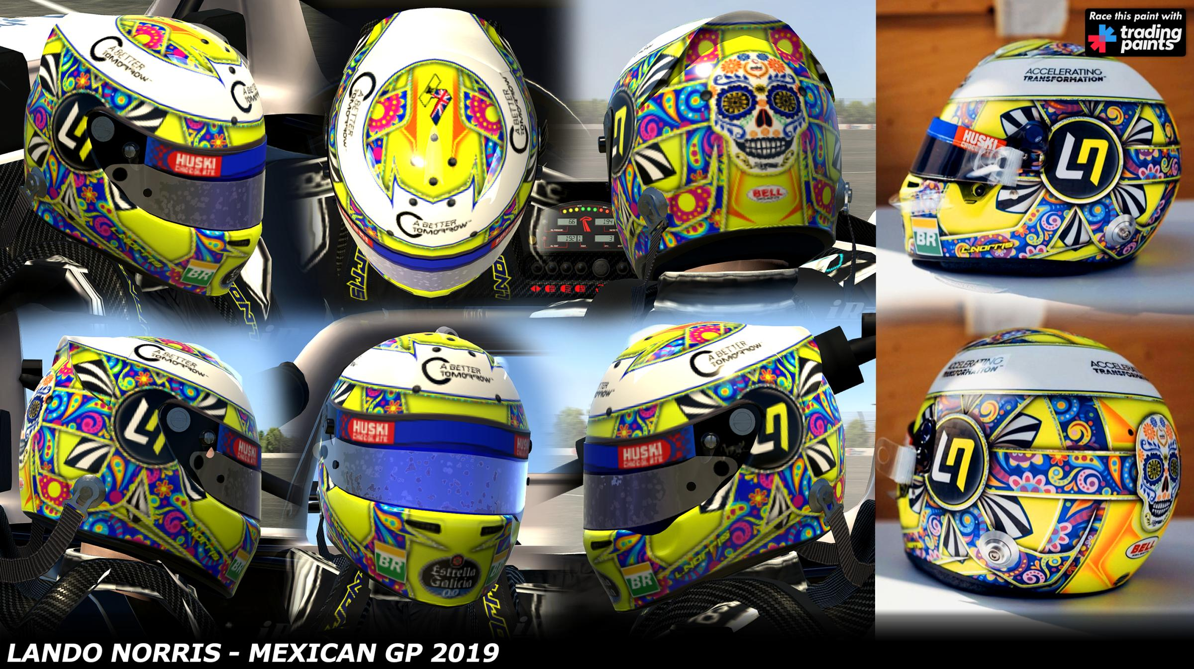Preview of Lando Norris - Mexican GP 2019 by George Simmons