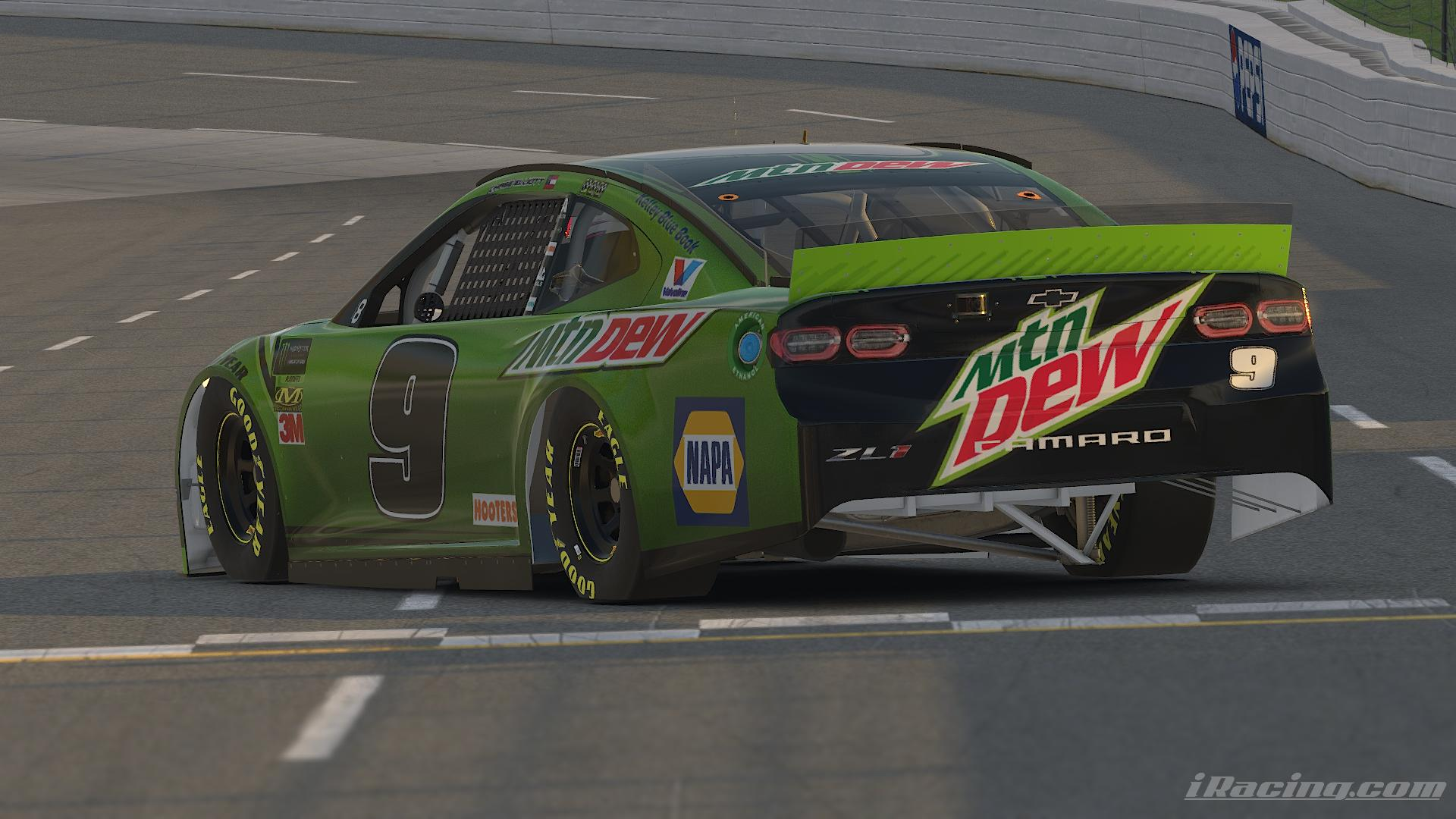 Preview of Chase Elliott Mountain Dew 2019 Round of 8 by Alexander L Russell
