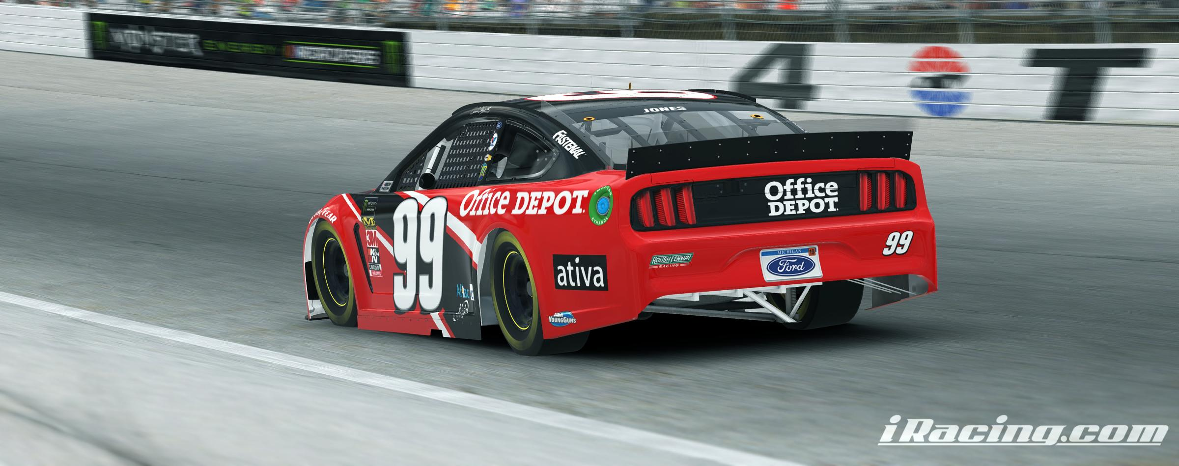 Preview of Carl Edwards Office Depot by Thomas Morris
