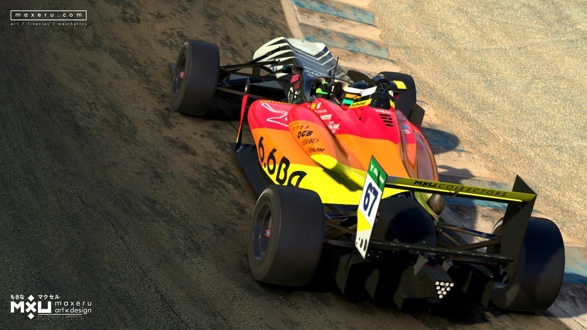 Preview of MXU Silver - Dallara F3 (Spec map update) by Bryce L.