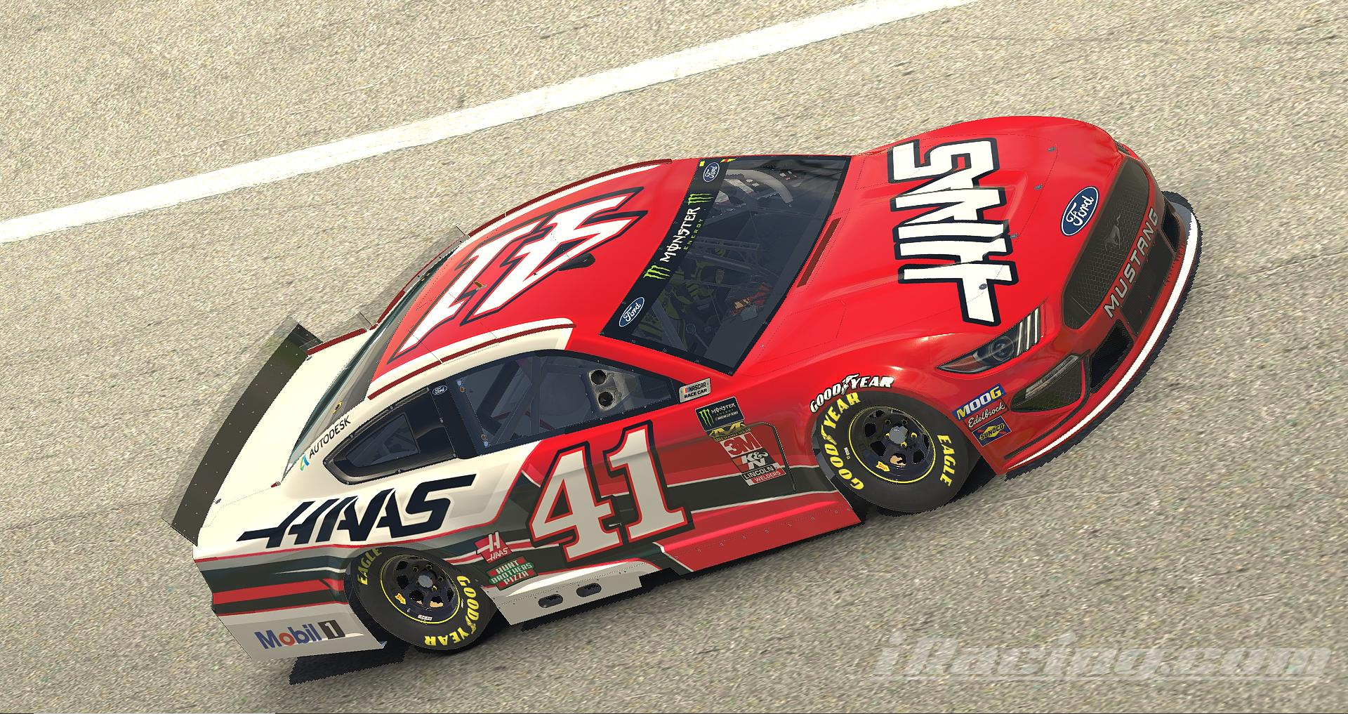 Preview of HAAS Automation Ford Mustang by Tanner Tallarico