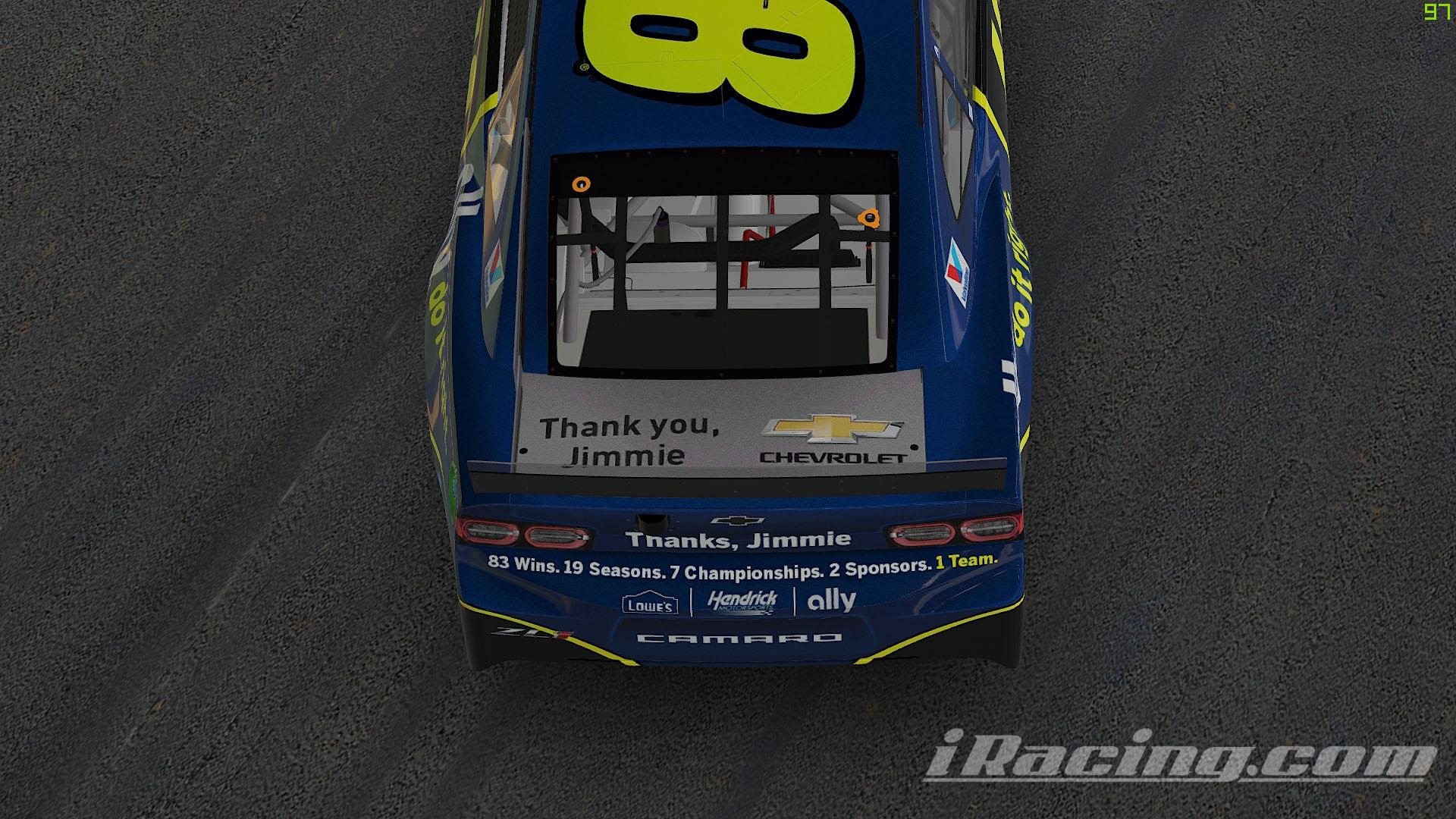 Preview of Jimmie Johnson Ally Tribute Chevrolet Camaro ZL1 by Sean Peleg