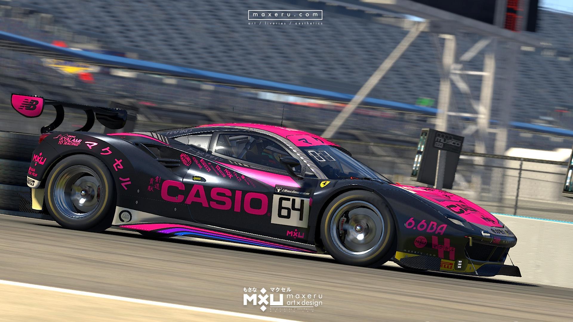 Preview of MXU Casio - Ferrari 488 GT3 (Spec map update) by Bryce L.