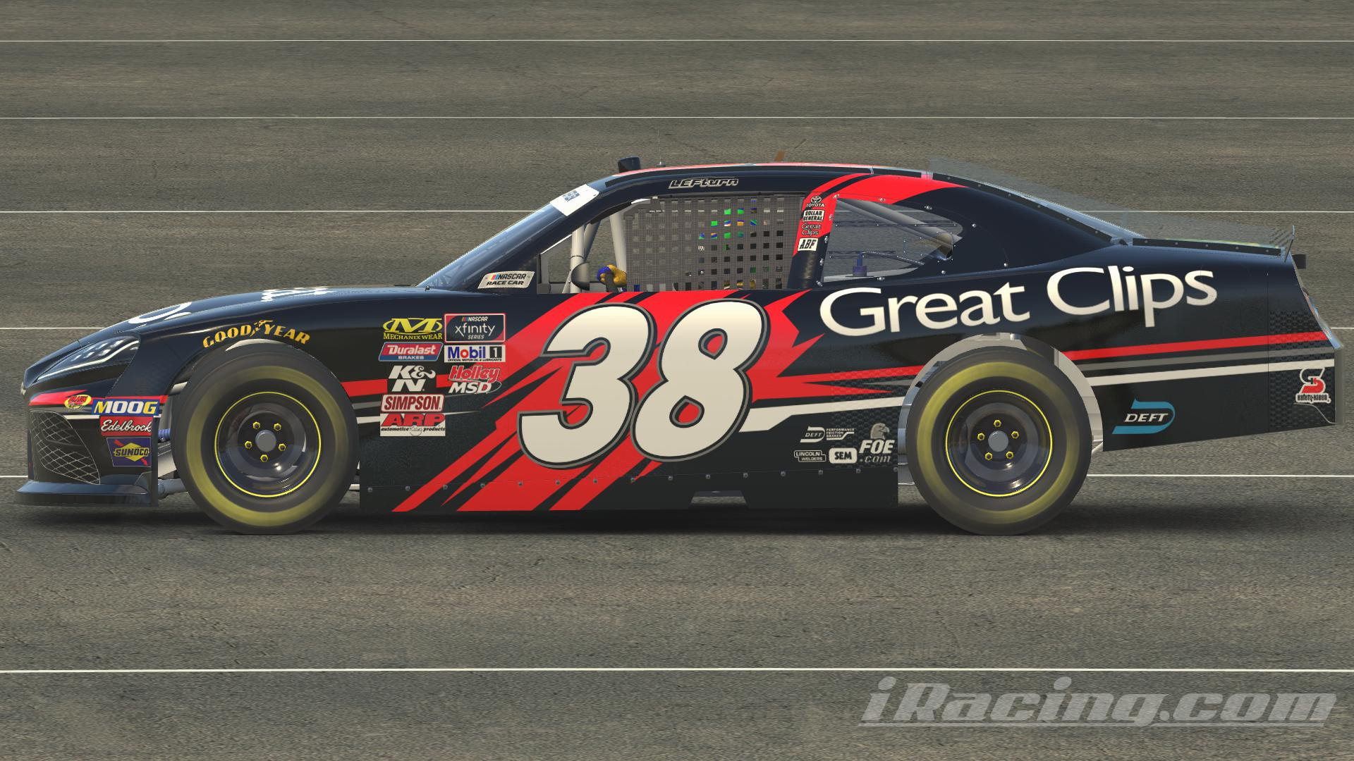 Preview of Jason Leffler Great Clips 2010 by Matt Muir