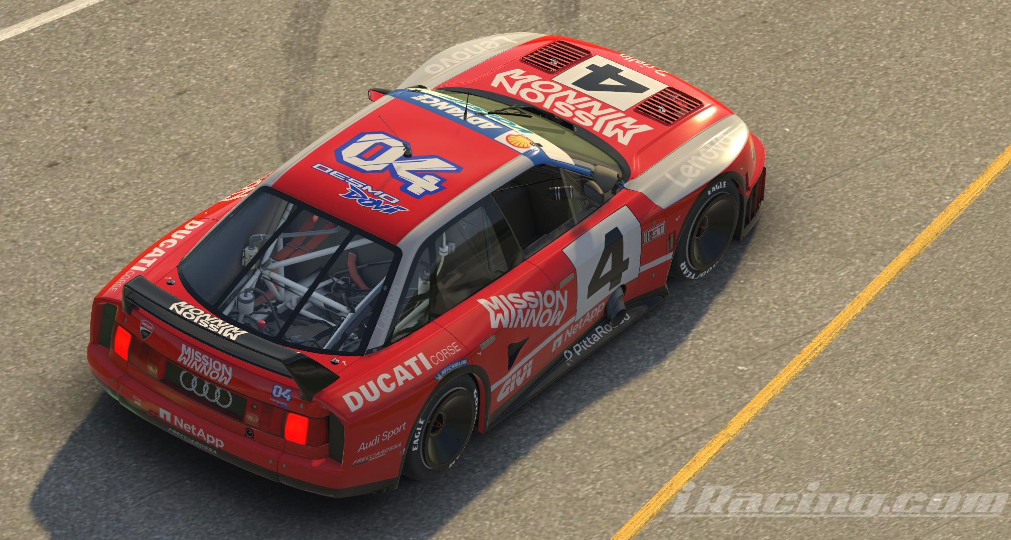 Preview of Audi 90 GTO  Ducati Corse by Remigio DiPasqua