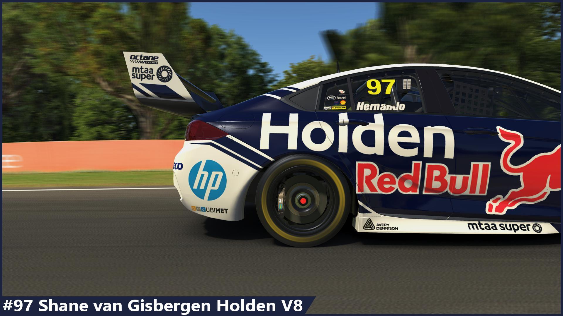 Preview of #97 Shane Van Gisbergen Holden 2019 by Sergio Hernando