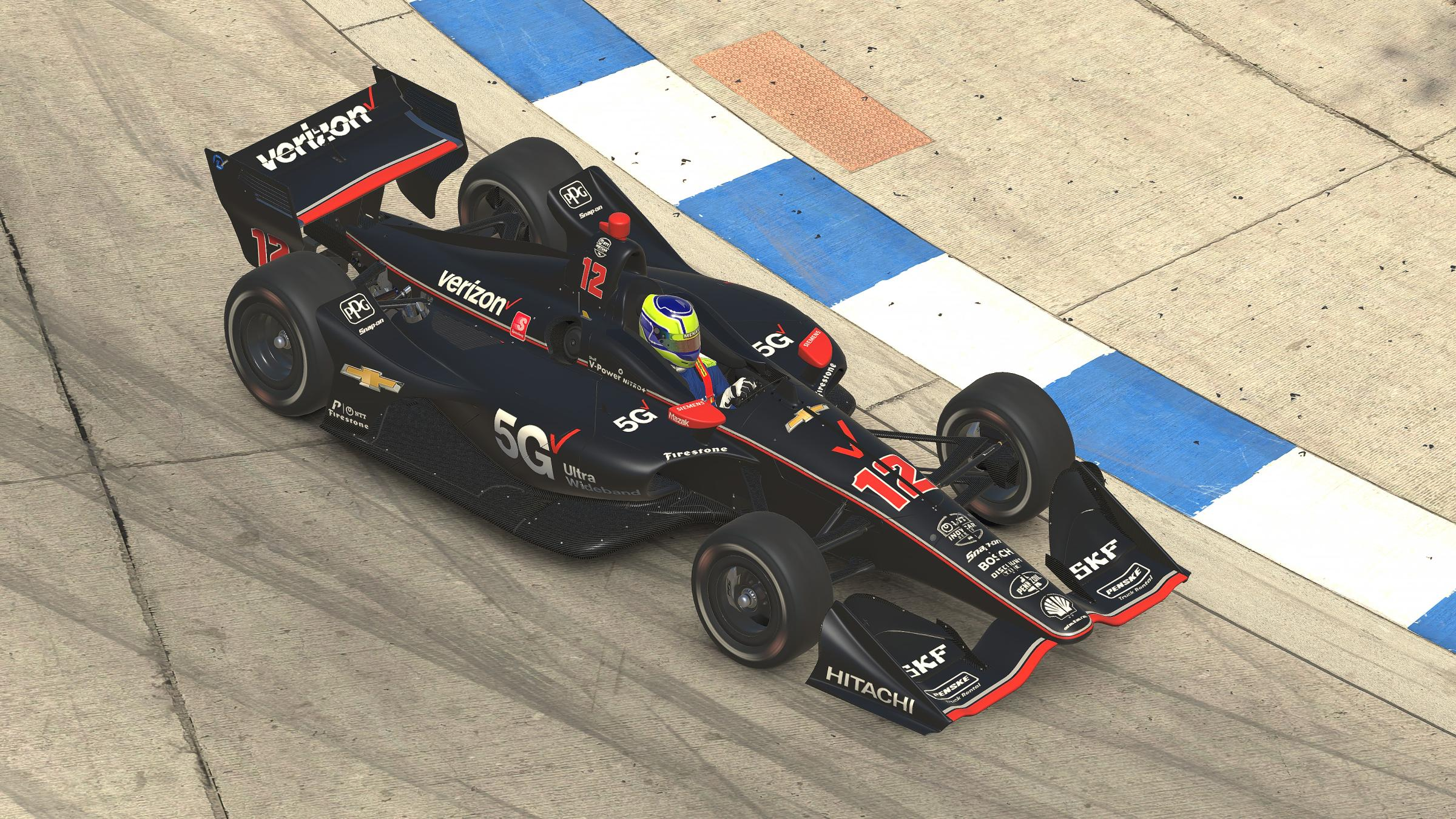 Preview of Will Power 2019 Verizon 5G #12 by Tyler King