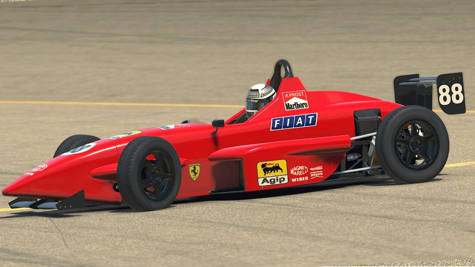 Preview of 1990 A Prost ferrari Formula Skip Barber  by Stephane Parent