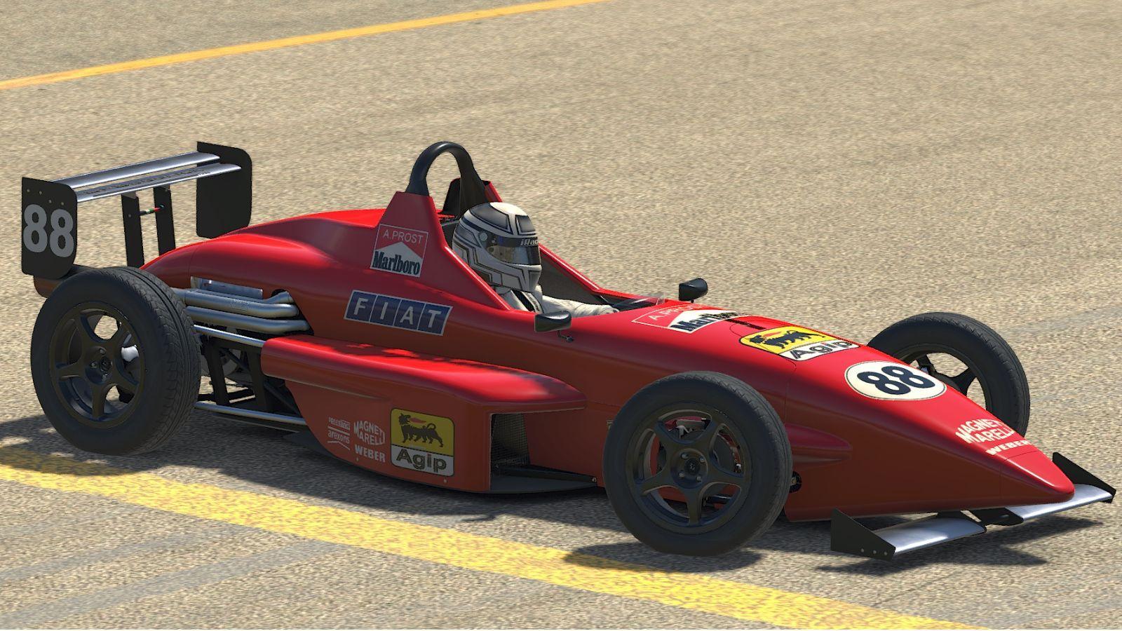 Preview of 1990 A Prost ferrari Formula Skip Barber  by Stephane Parent