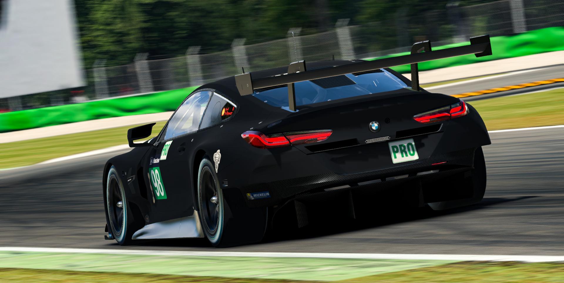 Preview of BMW M8 GTE - Stealth Black Matte by Dani Elgarbay