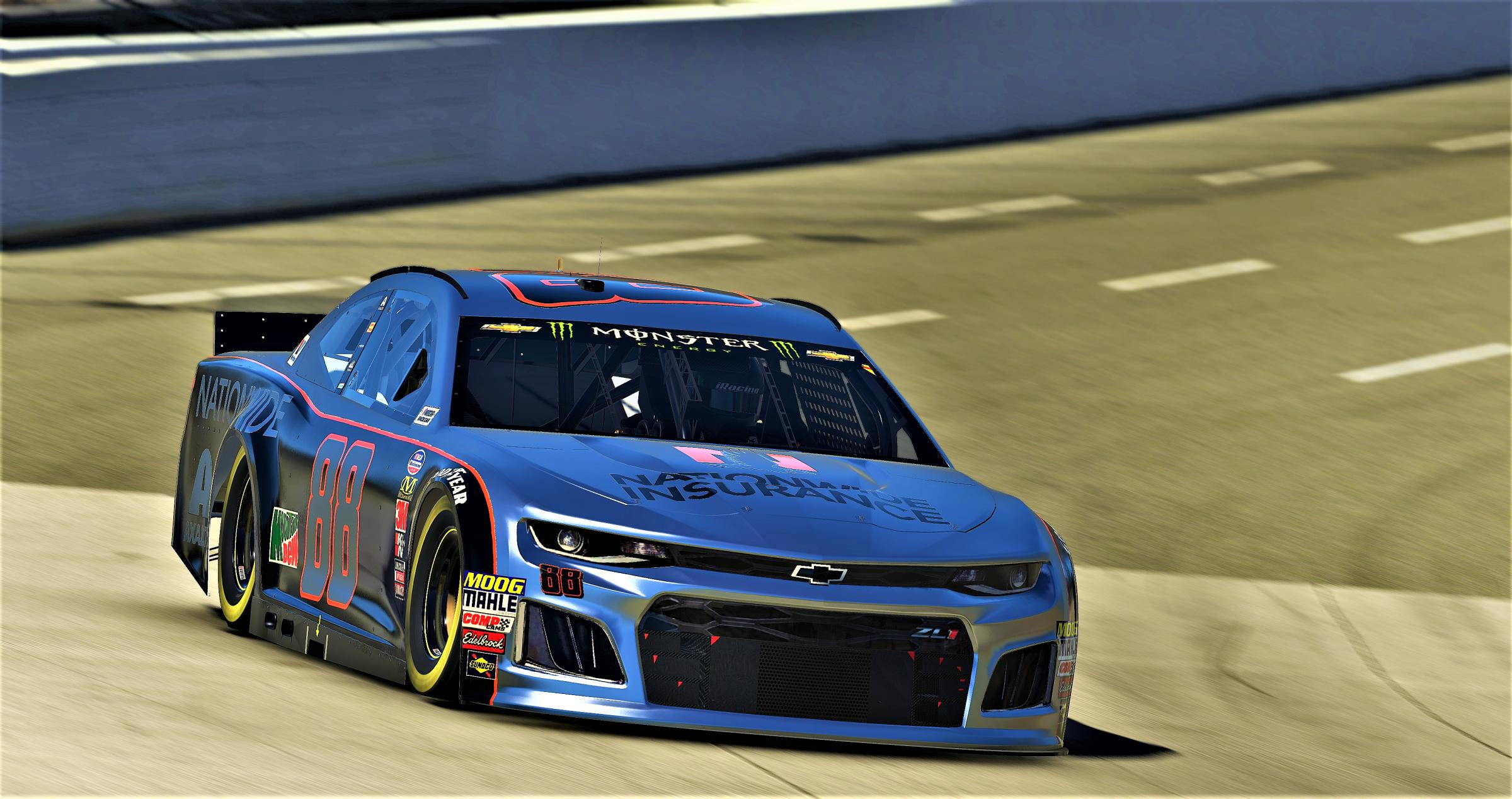 Preview of Dale Earnhardt JR Gray Ghost - Chevrolet Camaro ZL1 Gen 6  by Cameron Coulby